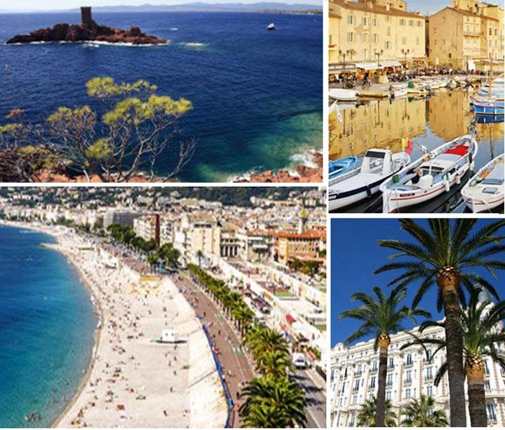Côte d'Azur L'étonnante diversité du littoral méditerranéen