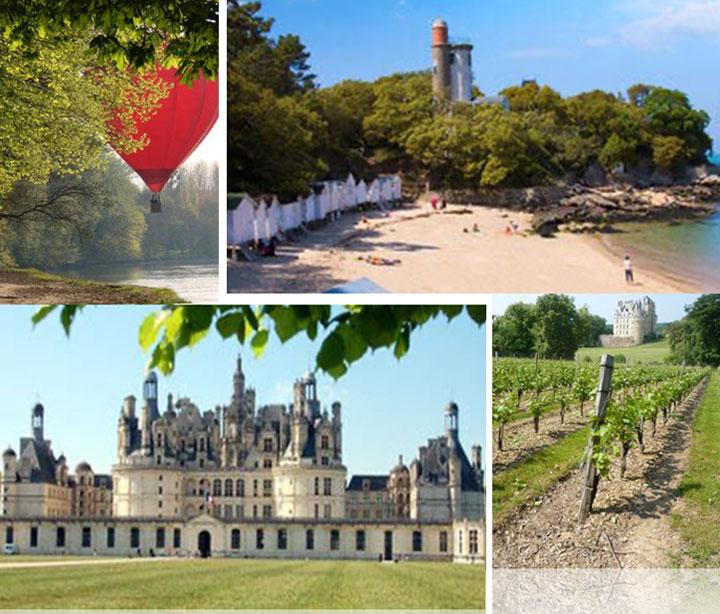 Pays dela Loire Paysages unique et histoire de France