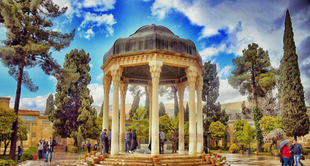 Tomb of Hafez in Shiraz