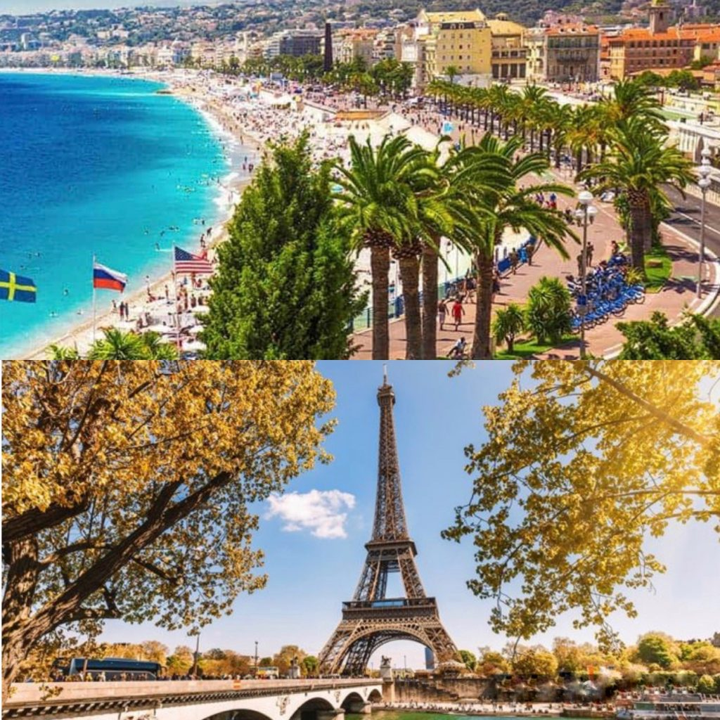 تور ۷ روز فرانسه (۳ شب پاریس ، ۳ شب نیس)