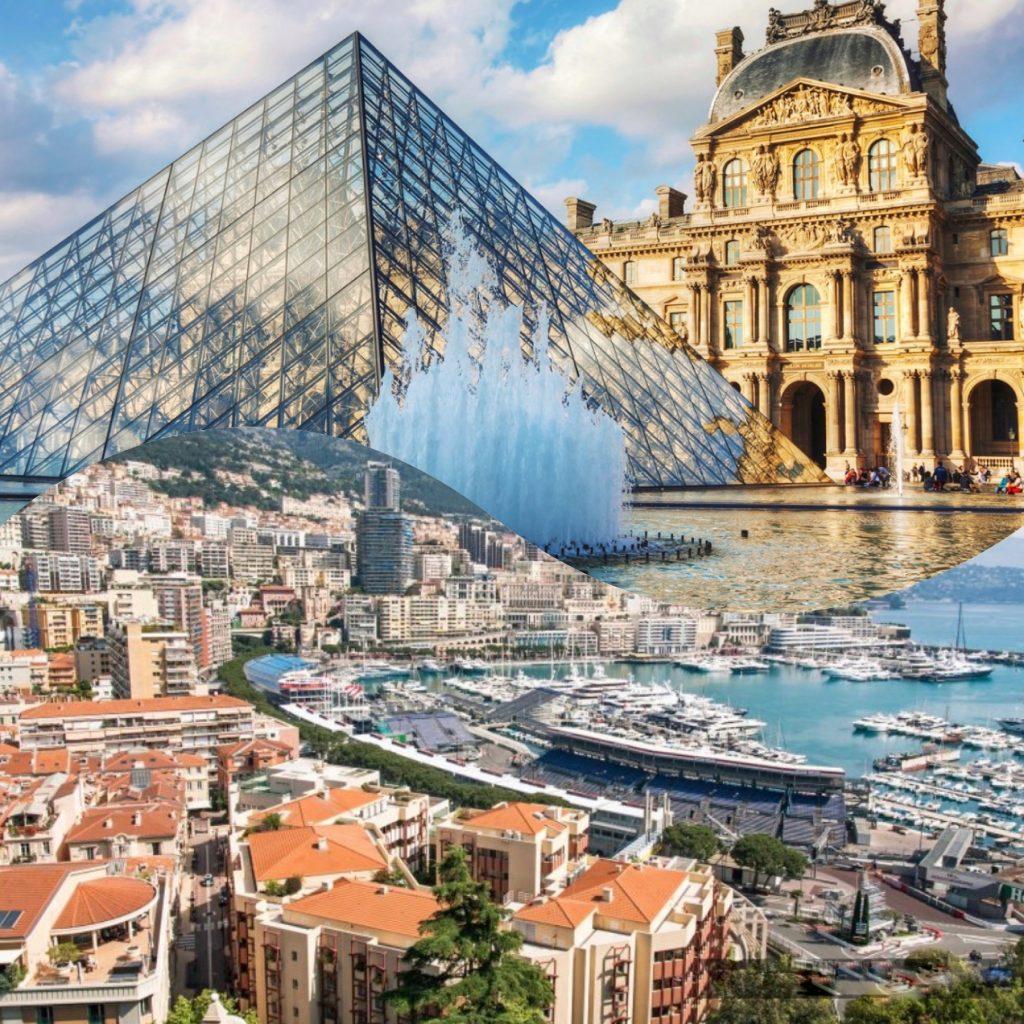 تور۷ روز فرانسه و موناکو (۳ شب پاریس،۳شب مونت کارلو)